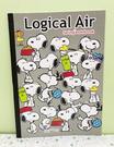【震撼精品百貨】史奴比Peanuts Snoopy ~SNOOPY A4筆記本-黑史奴比#53489
