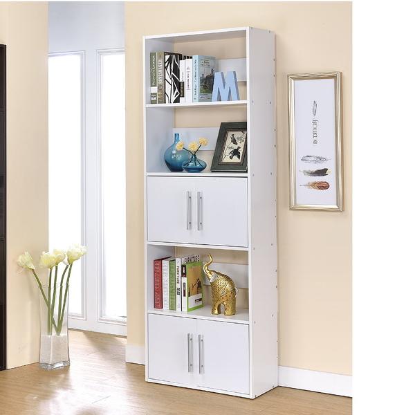 【品味玩傢】北歐五層雙門隔間櫃 書櫃