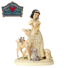 【正版授權】Enesco 白雪公主 純白王國 塑像 公仔 精品雕塑 迪士尼 Disney - 960588