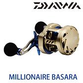 漁拓釣具 DAIWA MILLIONAIRE BASARA 100H-L [兩軸捲線器]