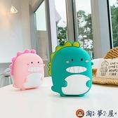 側背包女童迷你小包包硅膠卡通可愛零錢包【淘夢屋】
