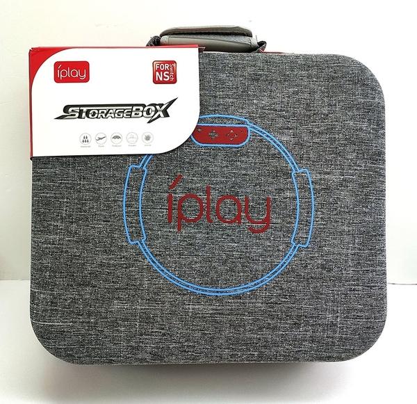 [9玉山最低比價網] IPLAY正品 Switch健身環收納包 NS硬包主機充電器 PRO手柄保護 J29HC
