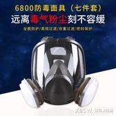 3M 6800噴漆專用防毒面具防油濺面罩透明全面罩防護面具『新佰數位屋』