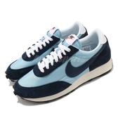 Nike 休閒鞋 DBreak 藍 男鞋 麂皮 網布 拼接 運動鞋 【ACS】 DB4635-400