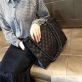 2020包包女潮洋氣手提包韓版百搭斜挎包大容量菱格錬條包  韓慕精品