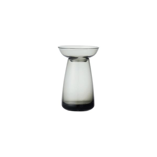 日本KINTO AQUA CULTURE玻璃花瓶 (小)-灰