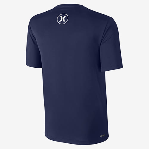 Hurley DRI-FIT ICON SHORT SLEEVE SURF SHIRT 衝浪T恤-DRI-FIT-男(藍)