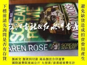 二手書博民逛書店精裝帶護封:scream罕見for meY16719 karen
