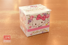 Hello Kitty 凱蒂貓 造型盒裝便利貼 花花 963435
