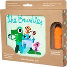 美國the Brushies手指玩偶造型牙刷套組-猴子桃桃