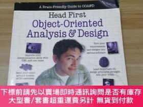 二手書博民逛書店Head罕見First Object-Oriented Analysis and Design:A Brain F