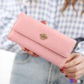 Bbay 長夾 拉鍊 錢包 長款 韓版 手包 大容量 多功能 大鈔夾 零錢包