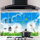 防油壁貼 大號愛心蒲公英  廚房防油磁磚貼 58*87cm廚房壁貼 想購了超級小物
