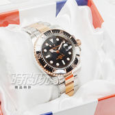 valentino coupeau范倫鐵諾 不銹鋼陶瓷男錶 女錶 中性錶 防水手錶 黑x玫瑰金 C43-V61589黑