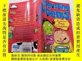 二手書博民逛書店Disgusting罕見Poems : 惡心的詩.Y200392