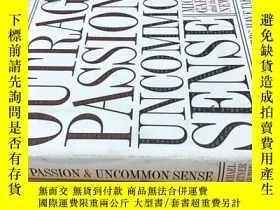 二手書博民逛書店OUTRAGE,罕見PASSION, AND Uncommon SenseY20113 Michael Gar