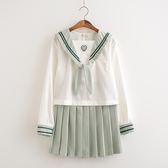 日系正統JK制服裙抹茶琉璃二本軟妹水手服日本校服班服學院風套裝