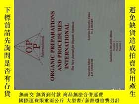 二手書博民逛書店ORGANIC罕見PREPARATIONS AND PROCEDURES INTERNATIONAL 49(1-3