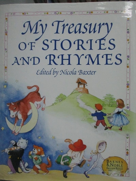 【書寶二手書T4/少年童書_YFT】Title-My Treasury of Stories and Rhymes_Ni