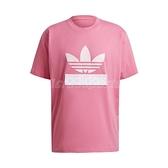 adidas 短袖T恤 Originals ADICOLOR Big Trfl Tee 粉 白 男款 短T 運動休閒 【ACS】 H09348