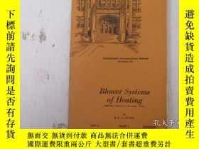 二手書博民逛書店民國:Blower罕見Systems of Heating【USA】關於房屋建築結構等Y21905