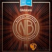 【缺貨】D'Addario NB1253 鎳銅民謠吉他弦 (12-53) 【吉他弦專賣店/進口弦/NB-1253/DAddario】