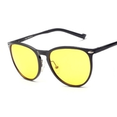 太陽眼鏡-偏光夜視鏡輕盈無感防強光時尚男-墨鏡-2色73nm19【巴黎精品】