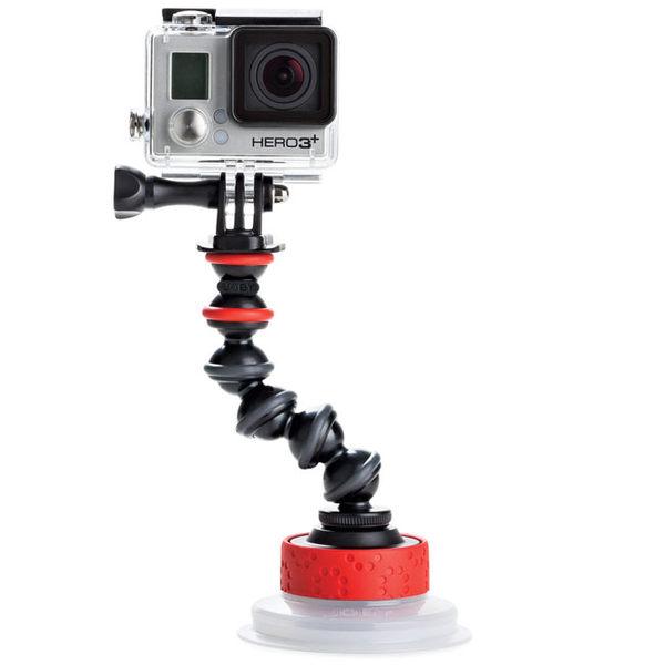 《台南-上新》JOBY JB38 強力吸盤金剛爪臂 Suction Cup & GorillaPod Arm JB01329 公司貨 適用GoPro