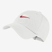 NIKE HERITAGE86 白 紅 白 電繡logo 老帽 可調 男女皆可戴 (布魯克林) 913011-121