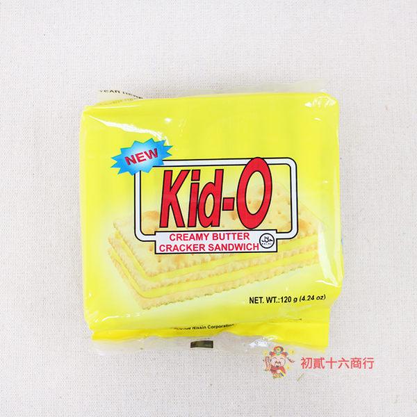 菲律賓零食Kid-O日清奶油三明治120g_8入【0216零食團購】4807770190162