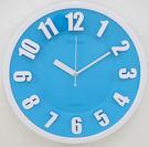 12吋時尚3D立體凸字靜音時鐘