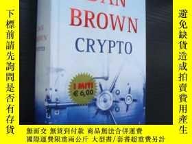 二手書博民逛書店CRYPTO罕見(意大利語) 精裝Y85718 DAN BROW