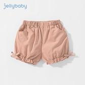女童短褲夏1歲兒童夏裝純棉嬰兒褲子夏天薄款小童夏季5寶寶燈籠褲 幸福第一站