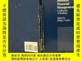 二手書博民逛書店Advances罕見in Business Financial