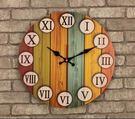 14寸歐式復古創意時鐘掛鐘 19款總有一...
