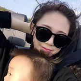 現貨-韓國ulzzang原宿復古墨鏡爆款女士太陽鏡 明星千頌伊同款鑲嵌韓版大框墨鏡款 白色墨鏡彩膜