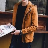 《澤米》刷毛連帽襯衫外套 有薄款和加厚加絨款可選 不粘毛 不起球 不褪色 四款顏色(全館任二