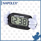 【愛車族購物網】NAPOLEX 迪士尼 米奇液晶時鐘