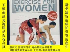 二手書博民逛書店Anatomy罕見of exercise for womenY258675