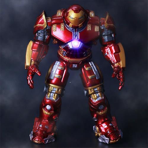 復仇者聯盟2 鋼鐵俠發光人偶模型