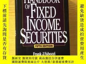 二手書博民逛書店THE罕見HANDBOOK OF FIXED INCOME SECURITIES【英文原版】精裝16開【外文書--