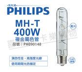 PHILIPS飛利浦 MH-T 400W BLUE 藍 複金屬色管 _ PH090148