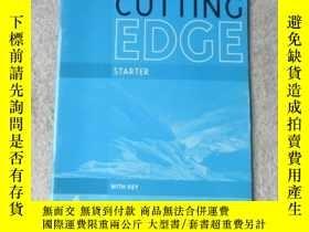 二手書博民逛書店Cutting罕見Edge: Starter Workbook