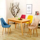 餐椅北歐鐵藝餐廳椅子現代簡約家用凳子