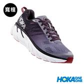 【線上體育】 HOKA ONE ONE男 Clifton 6 wide 路跑鞋 灰鷗/黑曜岩