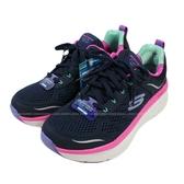 (BY) SKECHERS 女鞋 運動鞋 D'LUX WALKER 避震健走鞋 鞋頭加寬 149023NVMT深藍 [陽光樂活]