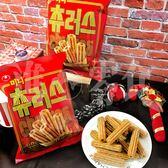 韓國超市最華麗的零食! 每個韓國女生都說有吃過! 【農心 肉桂派對吉拿棒】 D18