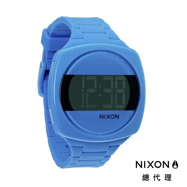【官方旗艦店】NIXON DASH 夏日繽紛 電子錶 天藍 潮人裝備 潮人態度 禮物首選