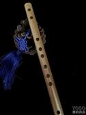 迷你短笛 學生入門G調F調竹笛小笛子孔橫笛初學者兒童 『優尚良品』YJT