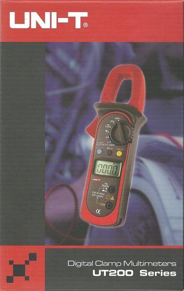 泰菱電子◆UNI-T 交直流勾表鉤錶鉤表 ㊣台灣總代理 優利德 UT203 TECPEL